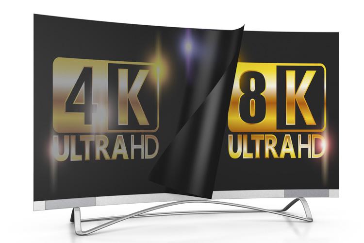 4K 8K Ultra HD